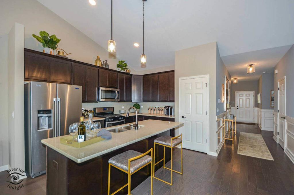 Kitchen featured in the Douglas By West Point Builders in Chicago, IL