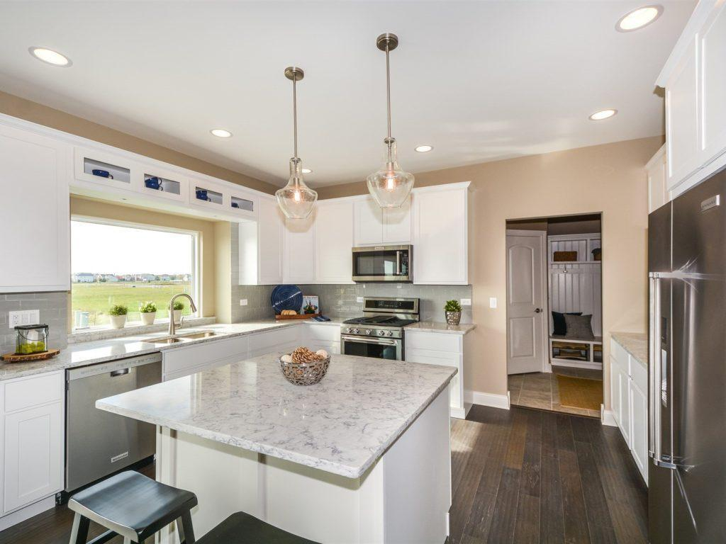 Kitchen featured in the Monroe By West Point Builders in Chicago, IL