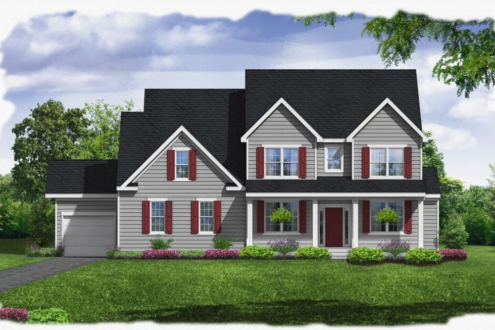 Exterior featured in the Rosslyn By Westbrooke Homes in Washington, VA