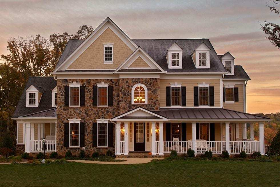 Exterior featured in the Washington By Westbrooke Homes in Washington, VA