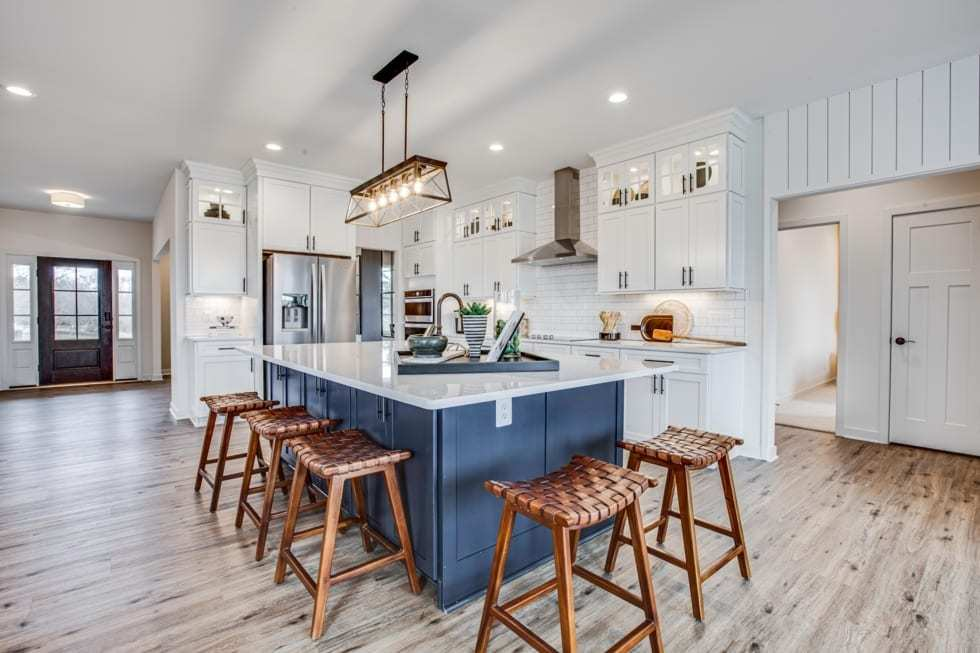 Kitchen featured in the Rosslyn By Westbrooke Homes in Washington, VA