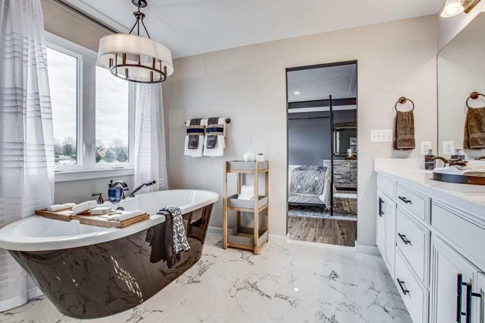 Bathroom featured in the Rosslyn By Westbrooke Homes in Washington, VA