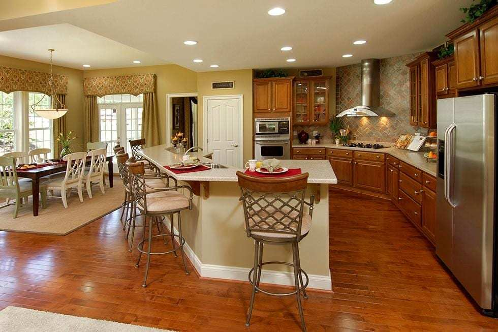Living Area featured in the Washington By Westbrooke Homes in Washington, VA