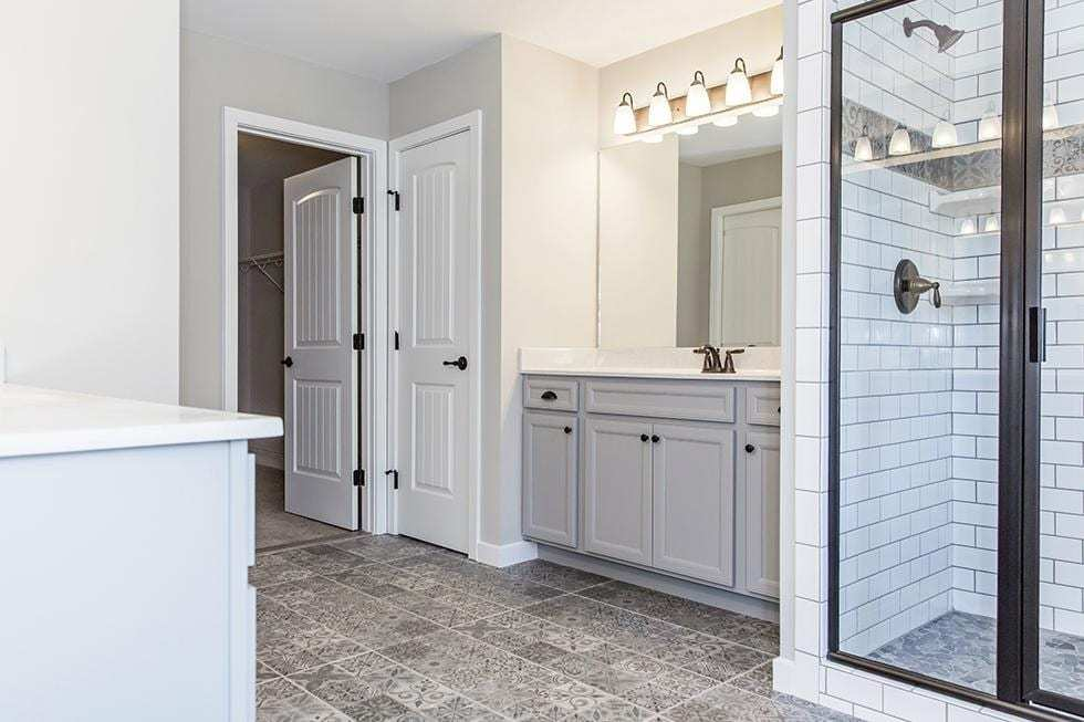 Bathroom featured in the Richmond By Westbrooke Homes in Washington, VA