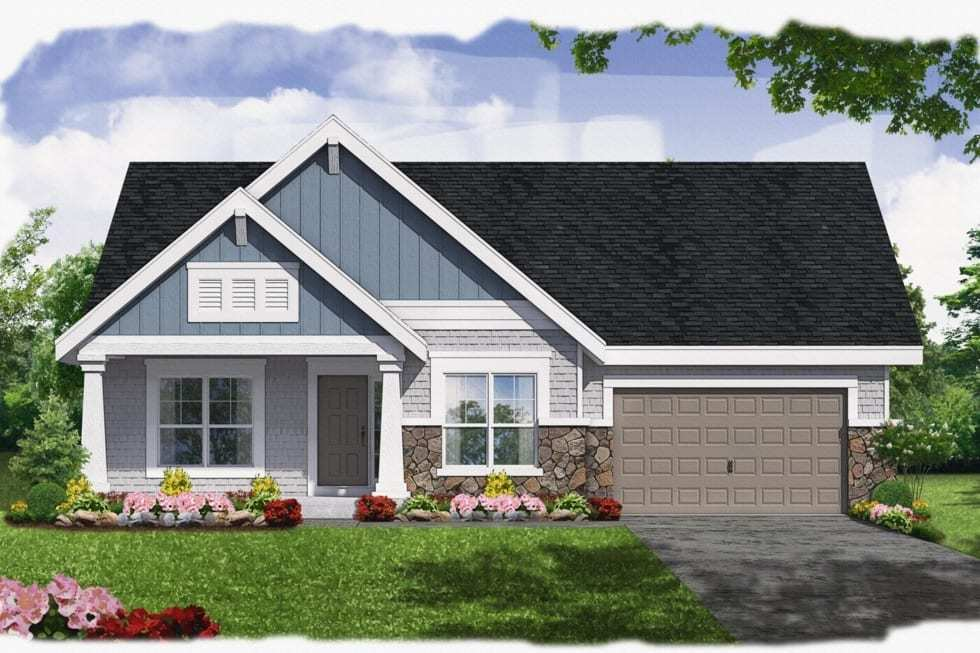 Exterior featured in the Sydney By Westbrooke Homes in Washington, VA