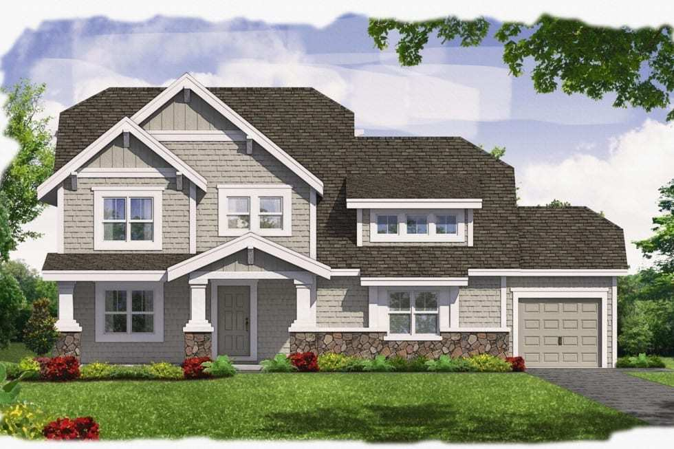Exterior featured in the Tyler By Westbrooke Homes in Washington, VA