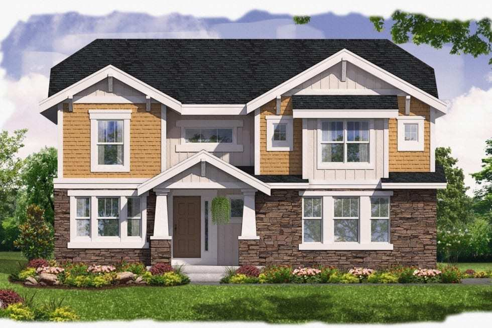 Exterior featured in the Colson By Westbrooke Homes in Washington, VA