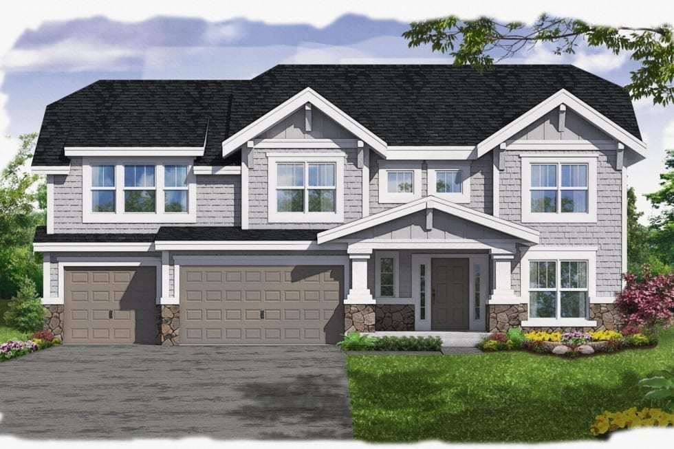 Exterior featured in the Spencer By Westbrooke Homes in Washington, VA