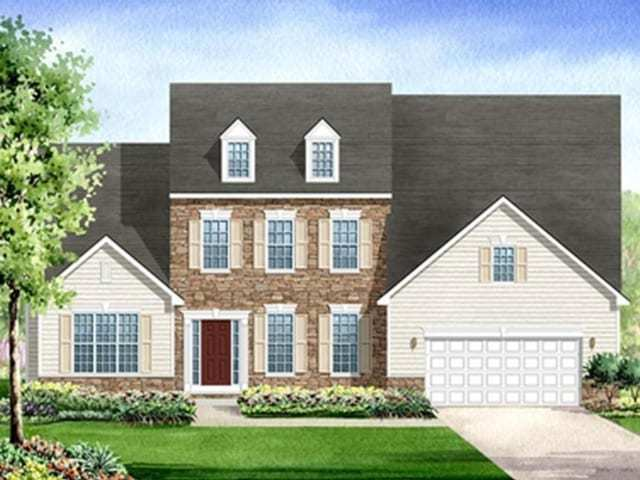 Exterior featured in the Lafayette By Westbrooke Homes in Washington, VA