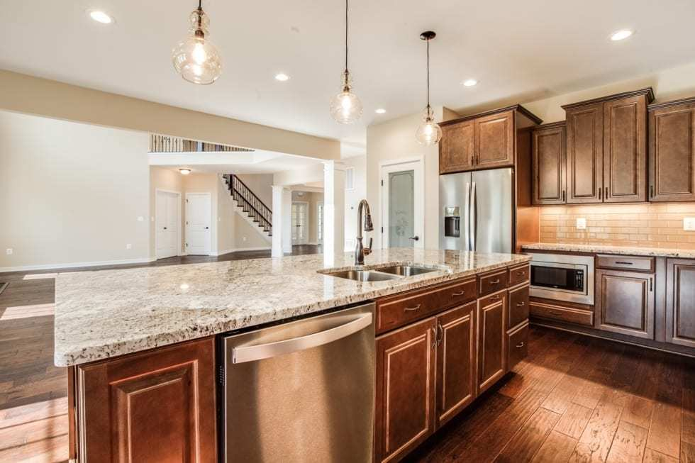 Kitchen featured in the Lafayette By Westbrooke Homes in Washington, VA