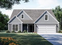 The Caldwell - Oak Park: Youngsville, North Carolina - West Homes