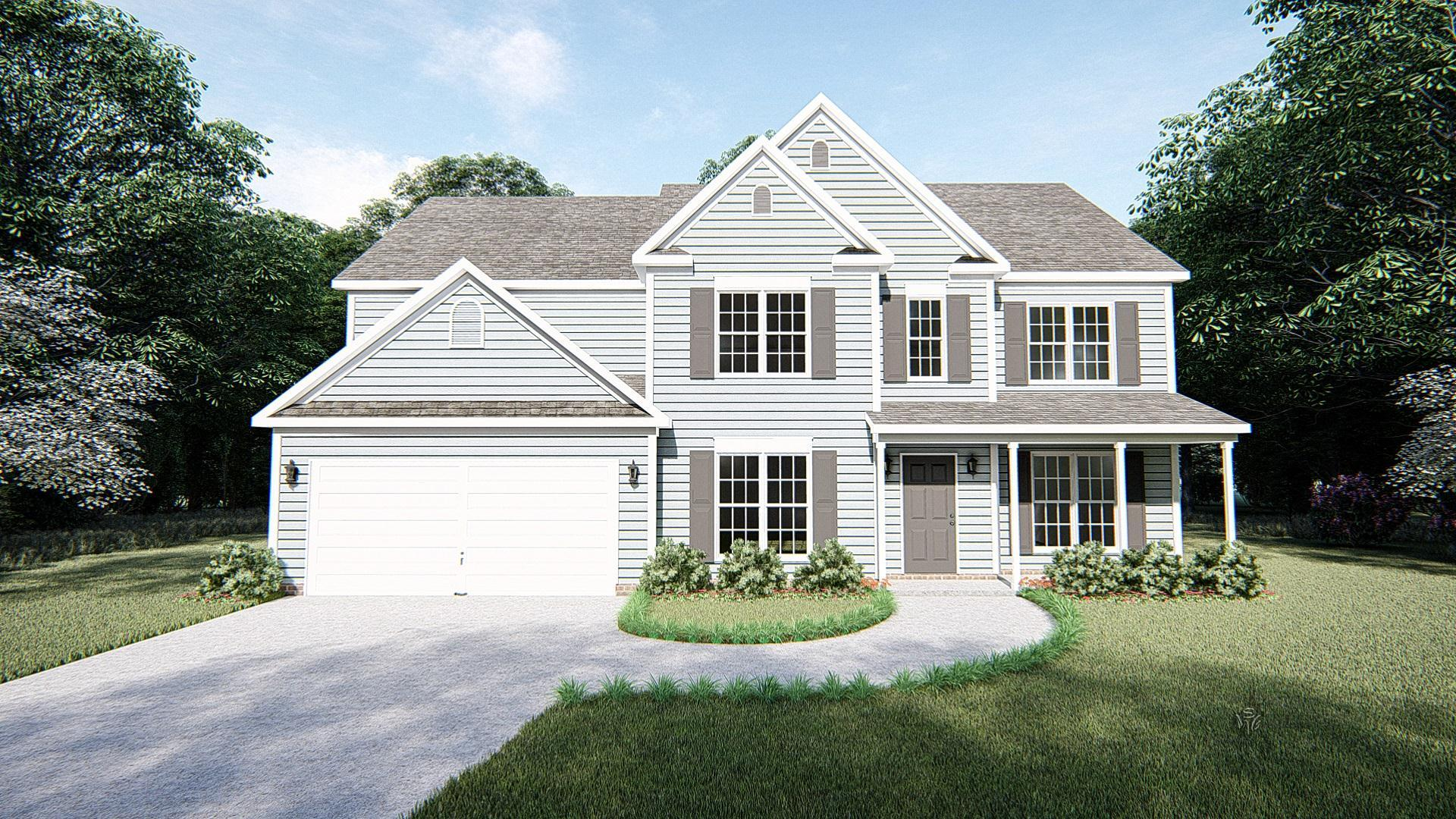 Exterior featured in The Brookville By West Homes in Nashville, TN
