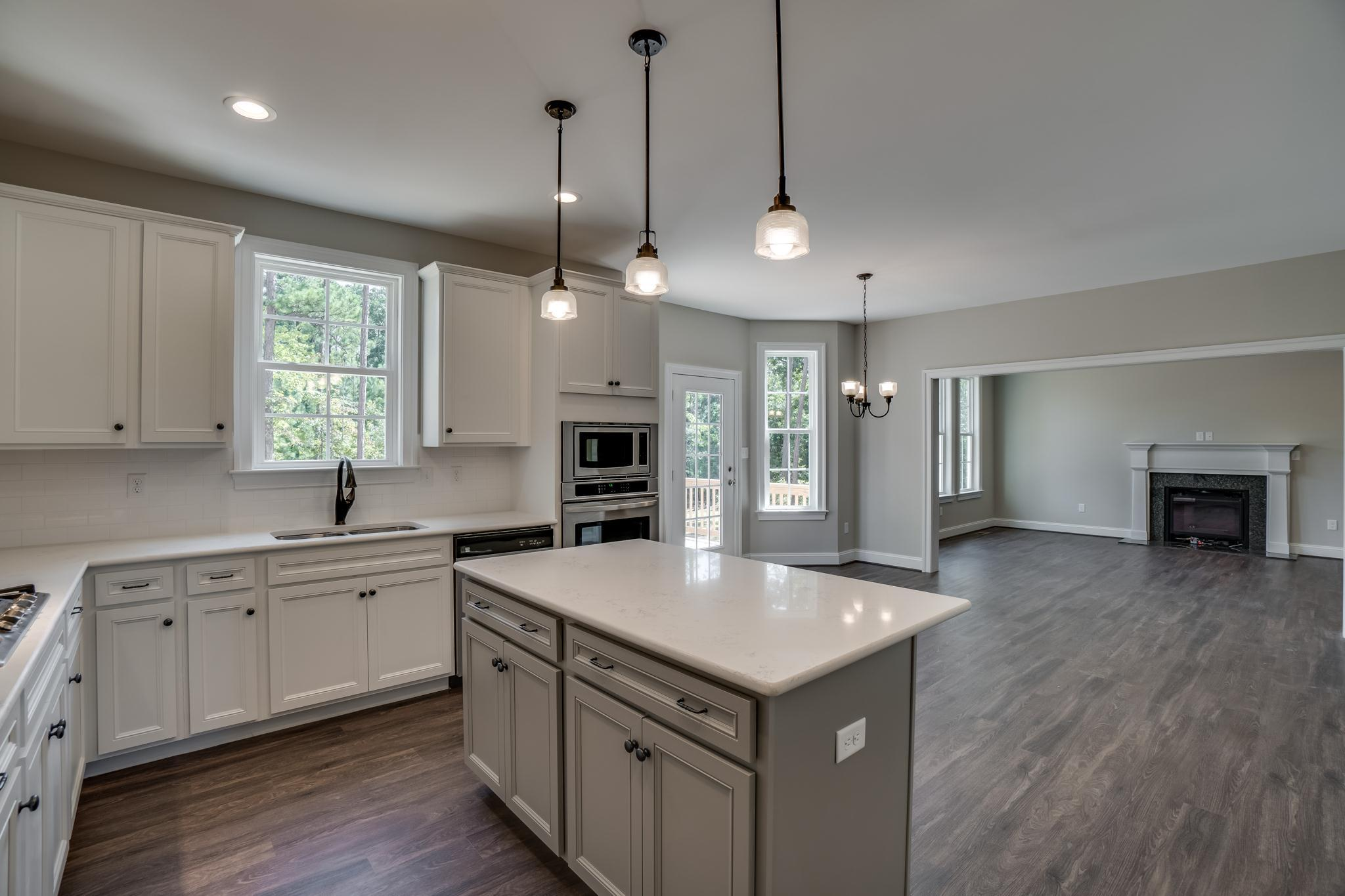 Kitchen featured in The Claybourne By West Homes in Richmond-Petersburg, VA