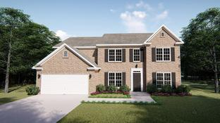 The Lockwood III - Oak Park: Youngsville, North Carolina - West Homes