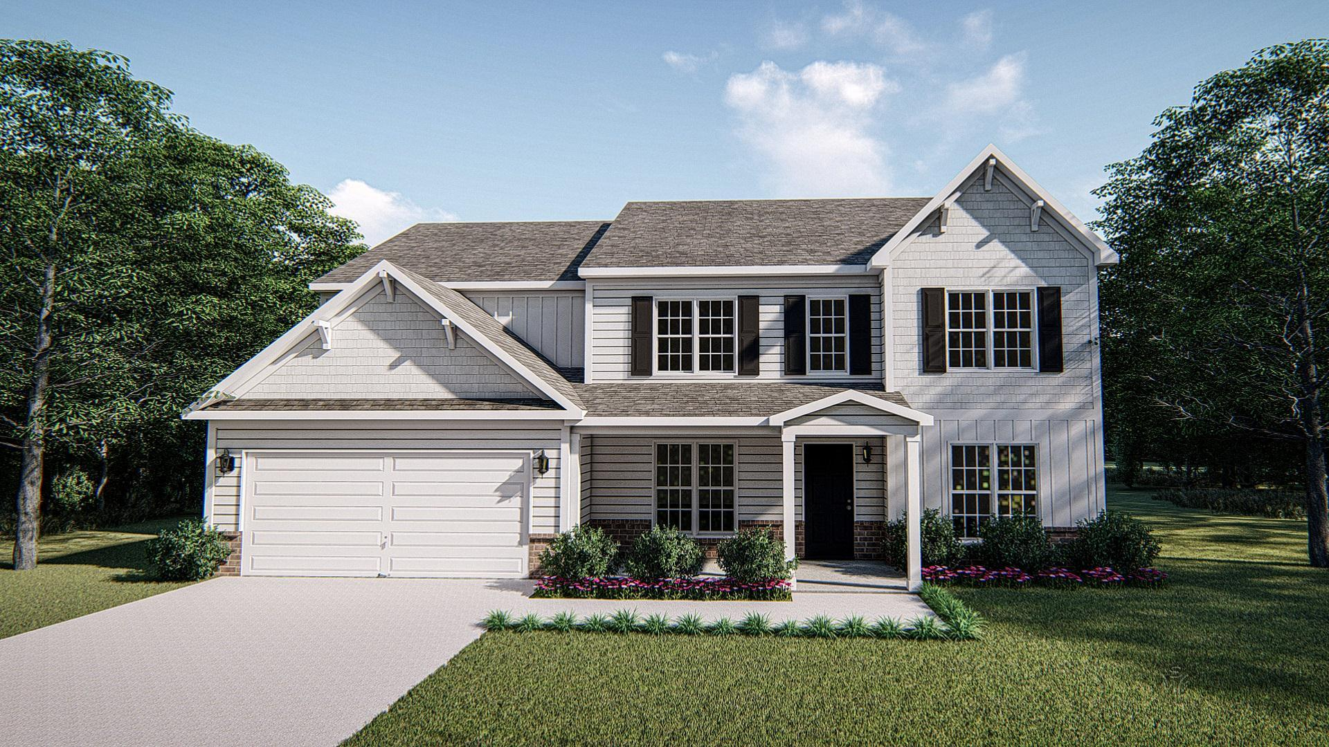 Exterior featured in The Lockwood III By West Homes in Richmond-Petersburg, VA