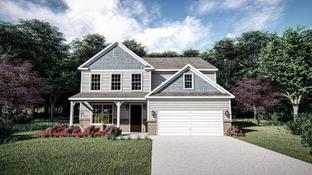 The Monteray II - Oak Park: Youngsville, North Carolina - West Homes