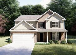 The Monteray III - Hardins Landing: Spring Hill, Tennessee - West Homes