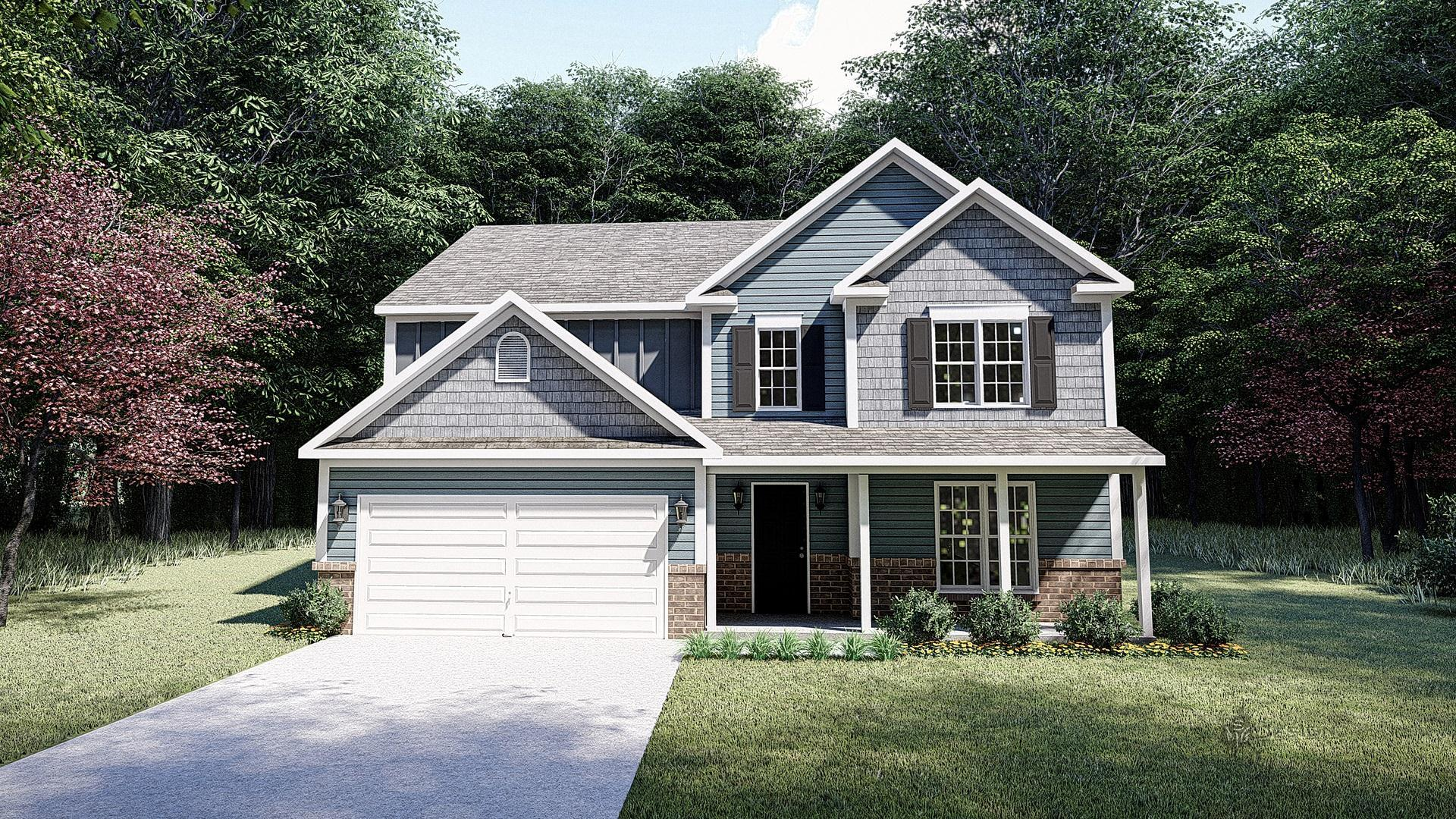 Exterior featured in The Monteray III By West Homes in Nashville, TN