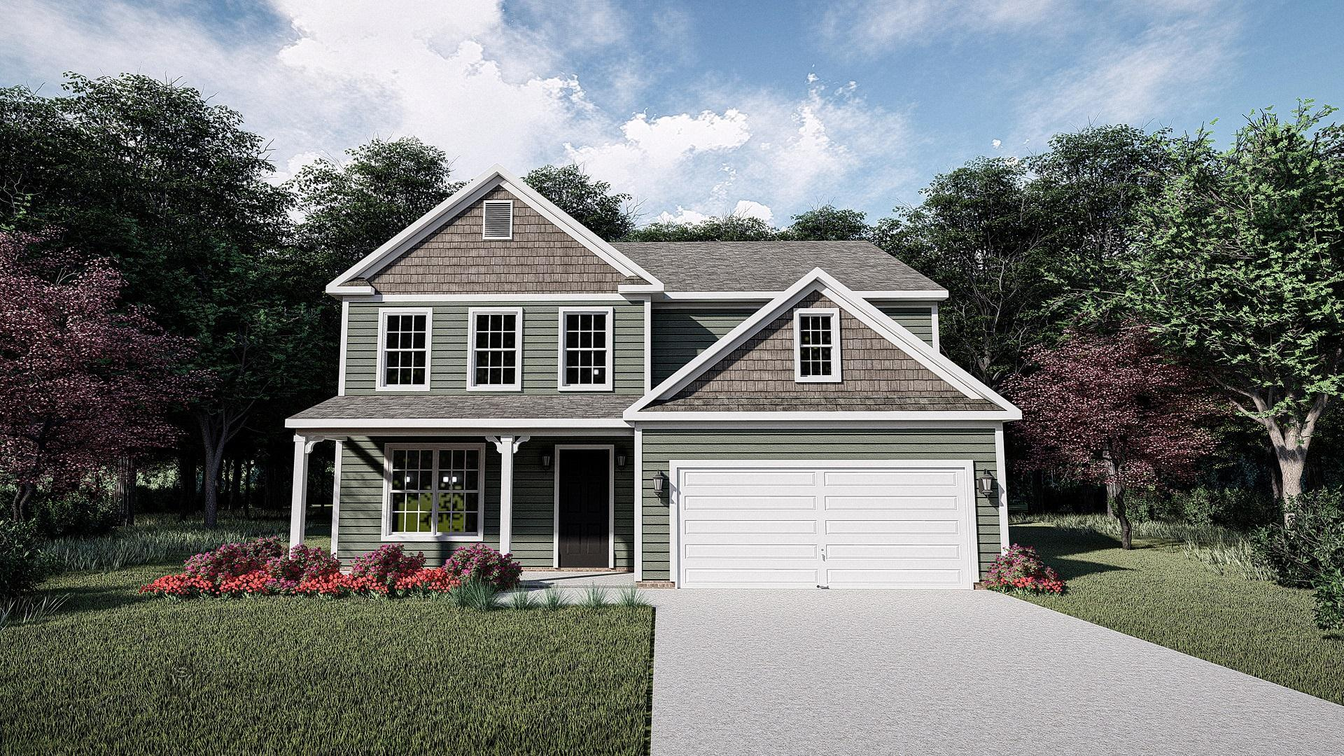Exterior featured in The Morgan By West Homes in Raleigh-Durham-Chapel Hill, NC