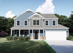 The Wyndham - Oak Park: Youngsville, North Carolina - West Homes