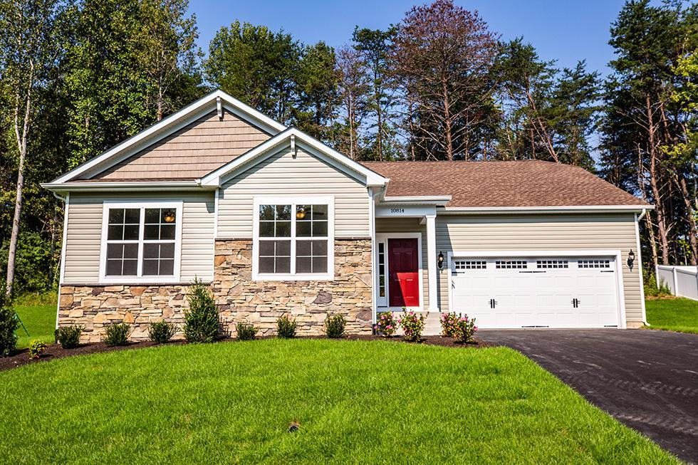 Exterior featured in the Kinsley By Westbrooke Homes - Build On Your Lot in Washington, VA
