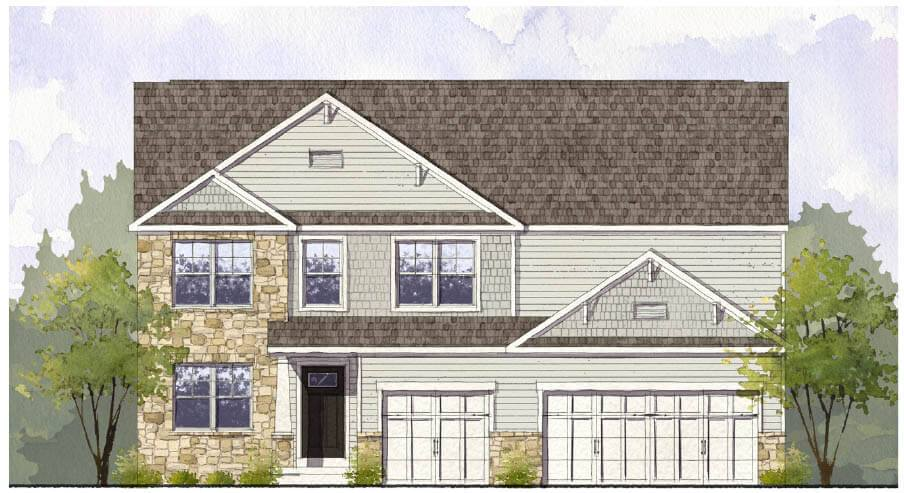 New Construction Homes and Floor Plans in Pickerington, OH ...