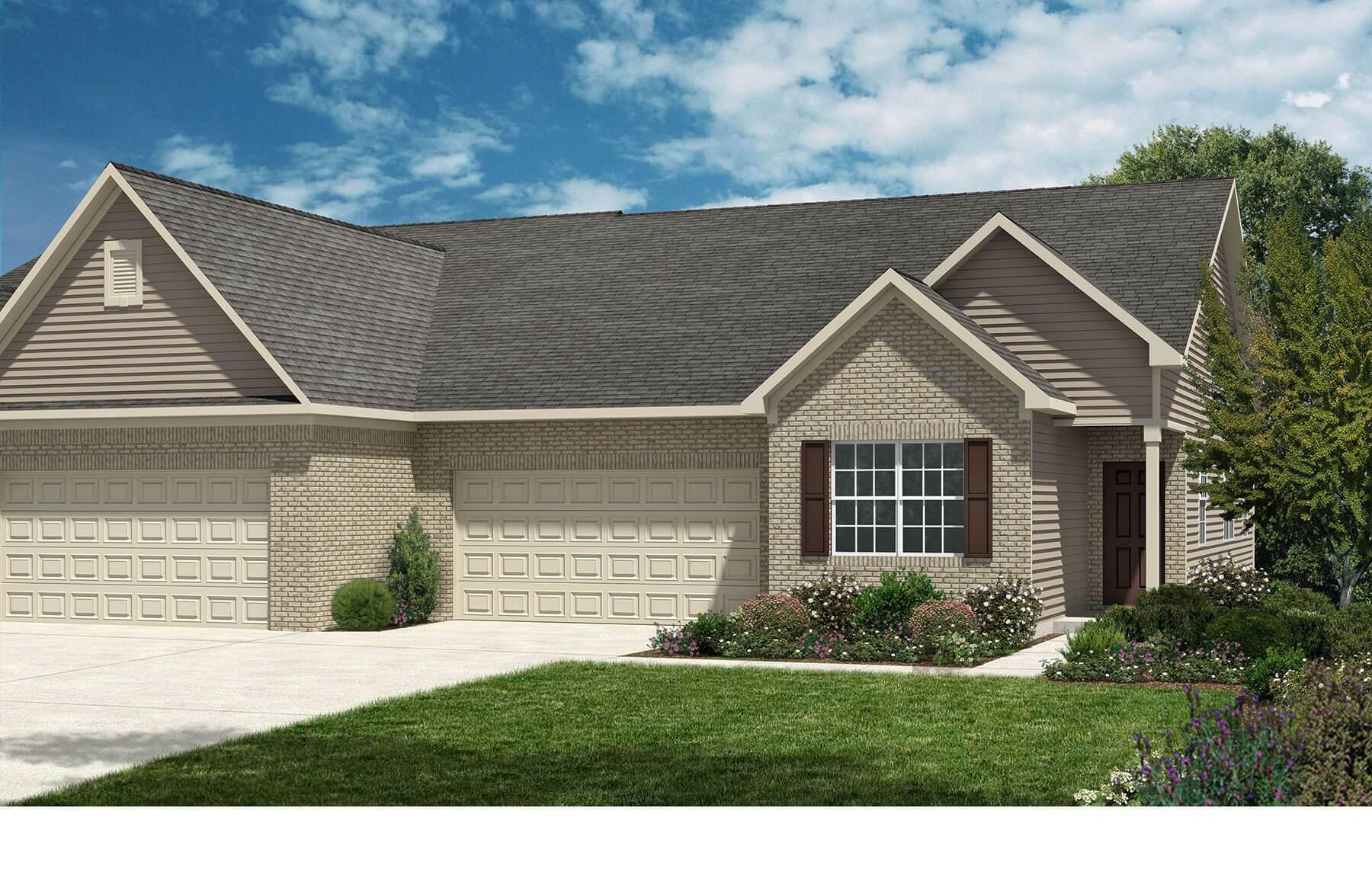 Ashland   Village At New Bethel   Patio Homes: Indianapolis, Indiana    Westport Homes