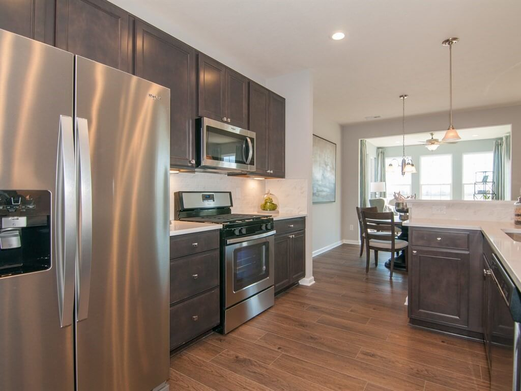 Kitchen-in-Rosemont-at-Village at New Bethel - Patio Homes-in-Indianapolis