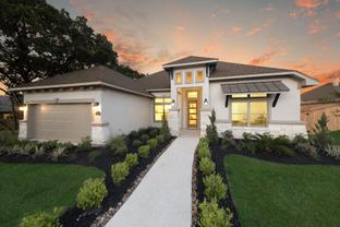 Front Gate by White Stone Custom Homes in San Antonio Texas