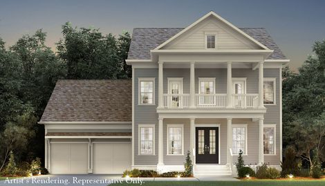 Woodcreek in holly springs nc new homes floor plans by for John wieland homes floor plans
