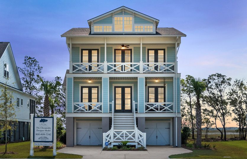 Exterior featured in the Chesapeake - Dock Lot By John Wieland Homes in Charleston, SC