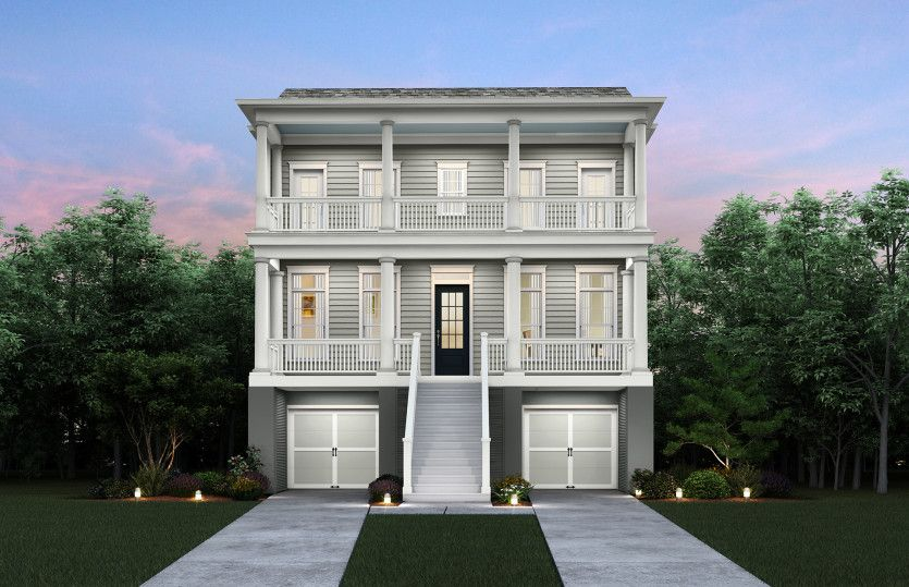 Exterior featured in the Carter By John Wieland Homes in Charleston, SC
