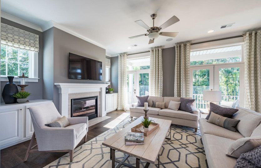 Living Area featured in the Carter By John Wieland Homes in Charleston, SC