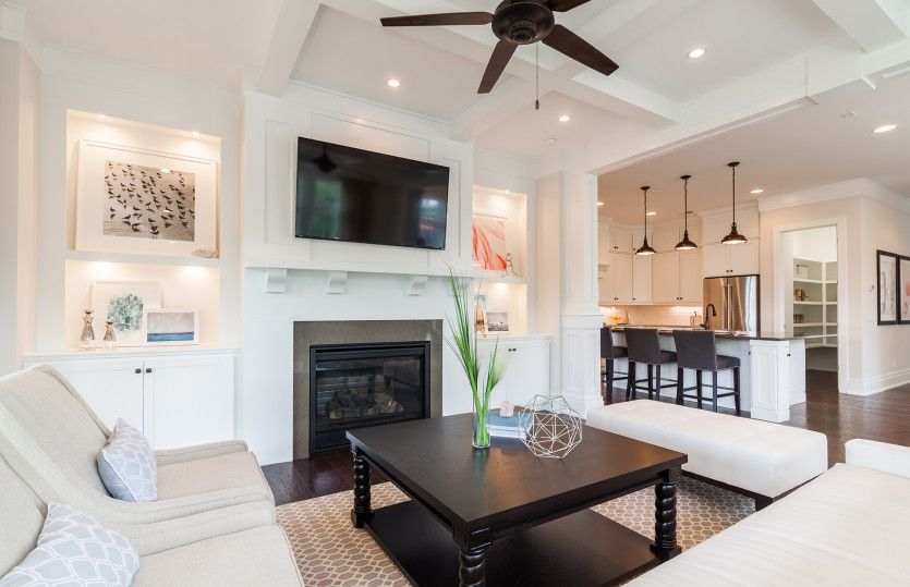 Living Area featured in the Faulkner By John Wieland Homes in Charleston, SC