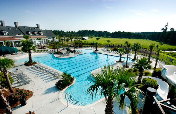 One of Three Swimming Pools
