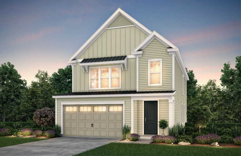 Exterior featured in the Preston By John Wieland Homes in Charleston, SC