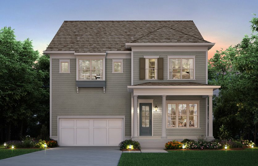 Exterior featured in the Darien By John Wieland Homes in Charleston, SC