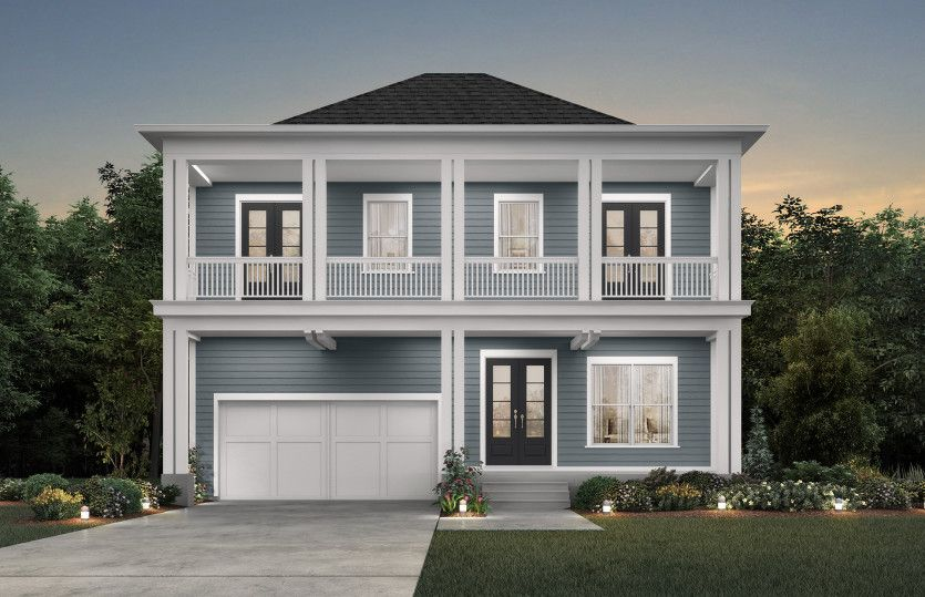 Exterior featured in the Lanier By John Wieland Homes in Charleston, SC