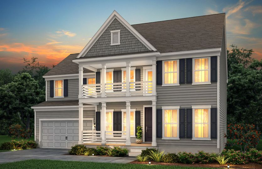 Exterior featured in the Ward By John Wieland Homes in Charleston, SC