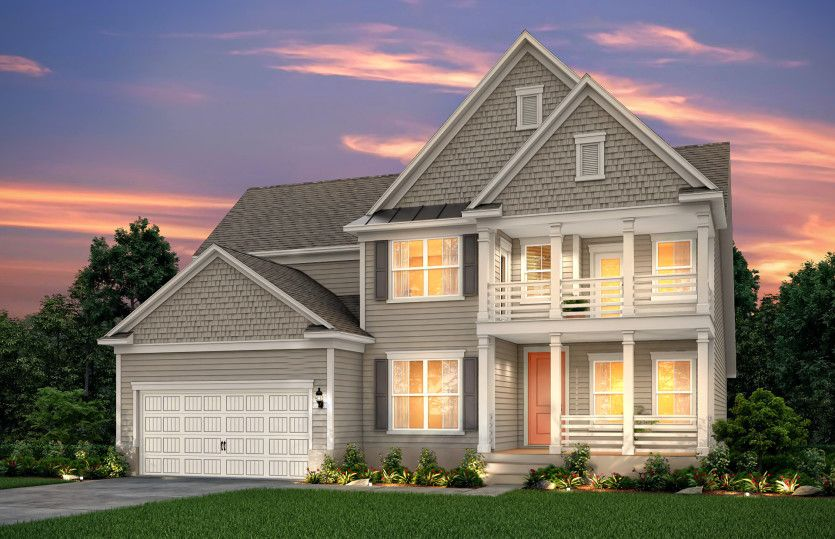 Exterior featured in the Valley By John Wieland Homes in Charleston, SC
