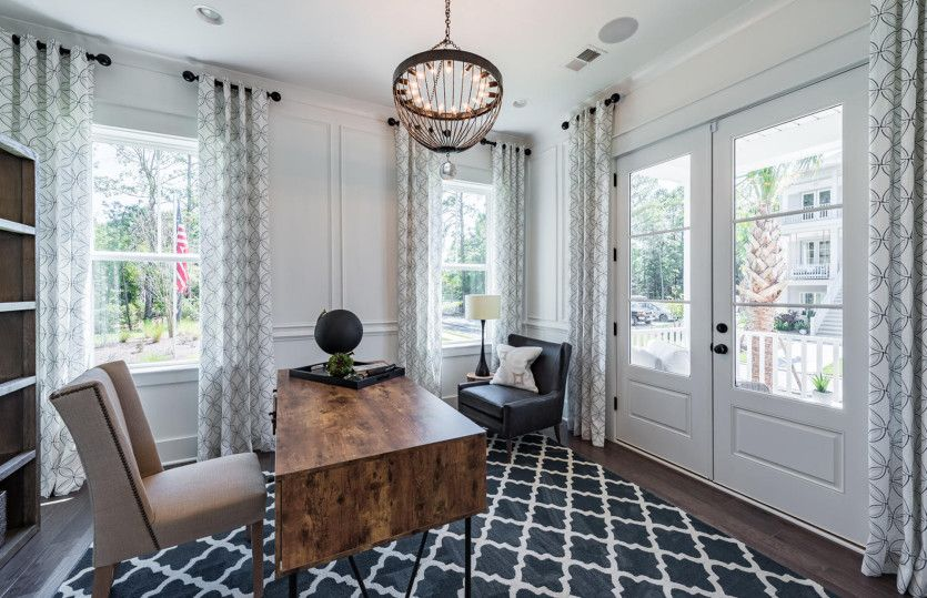 Living Area featured in the Mercer - Dock Lot By John Wieland Homes in Charleston, SC