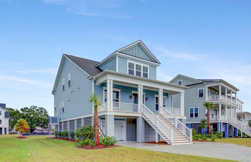Exterior featured in the Foster By John Wieland Homes in Charleston, SC