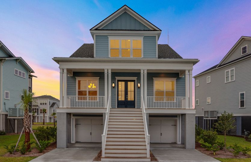 Exterior featured in the Foster - Dock Lot By John Wieland Homes in Charleston, SC