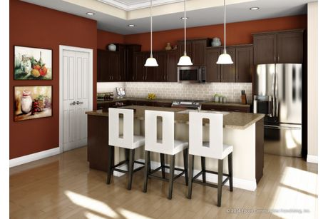 Kitchen-in-Salerno-at-Cottages at Governor's Landing-in-Knoxville