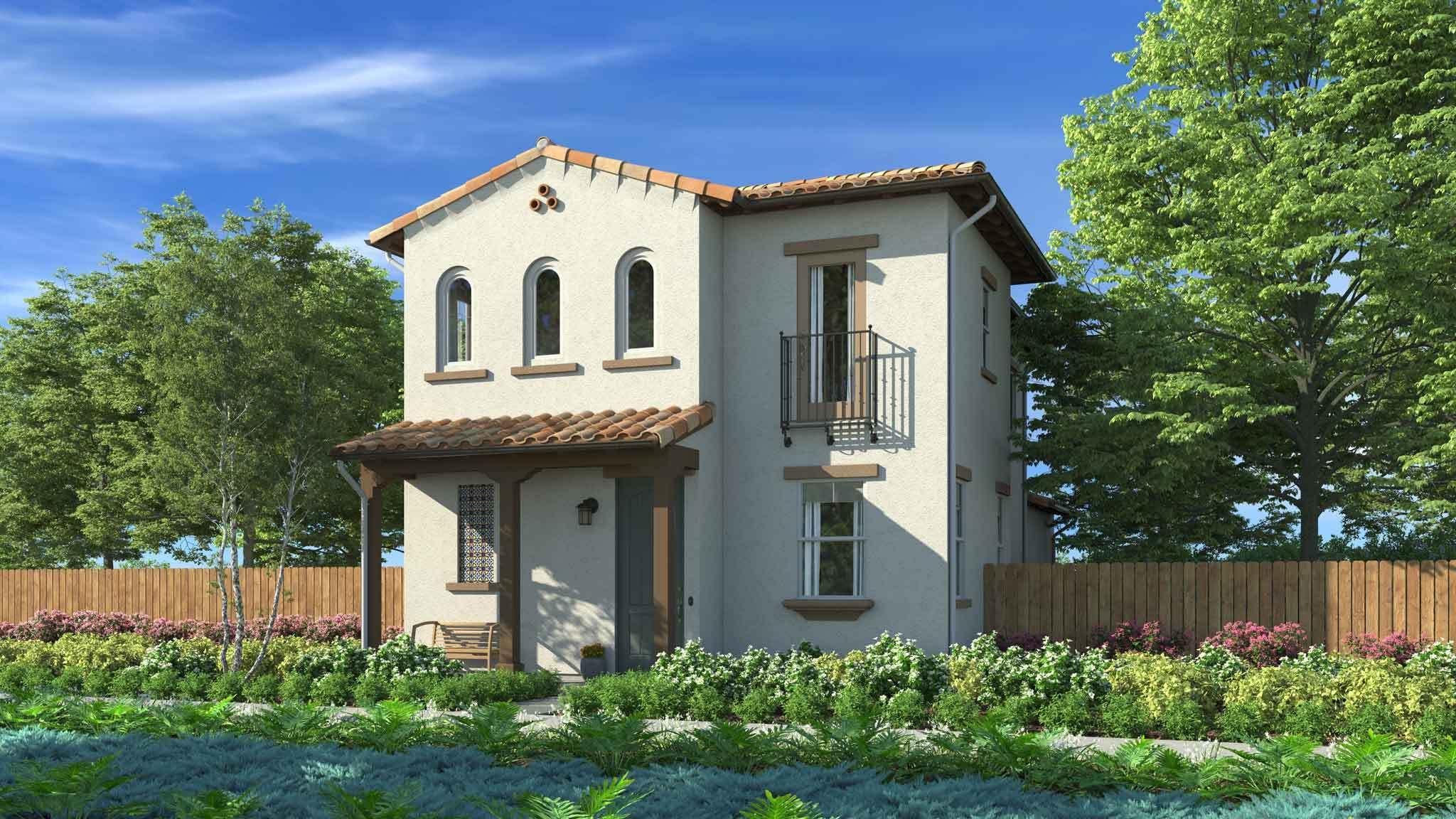 Gardens By Maria: Residence 1 Plan, Santa Maria, California 93458