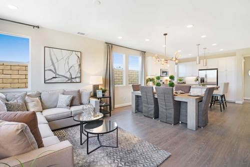 Greatroom-and-Dining-in-Plan 7-at-The Gardens-in-Santa Maria