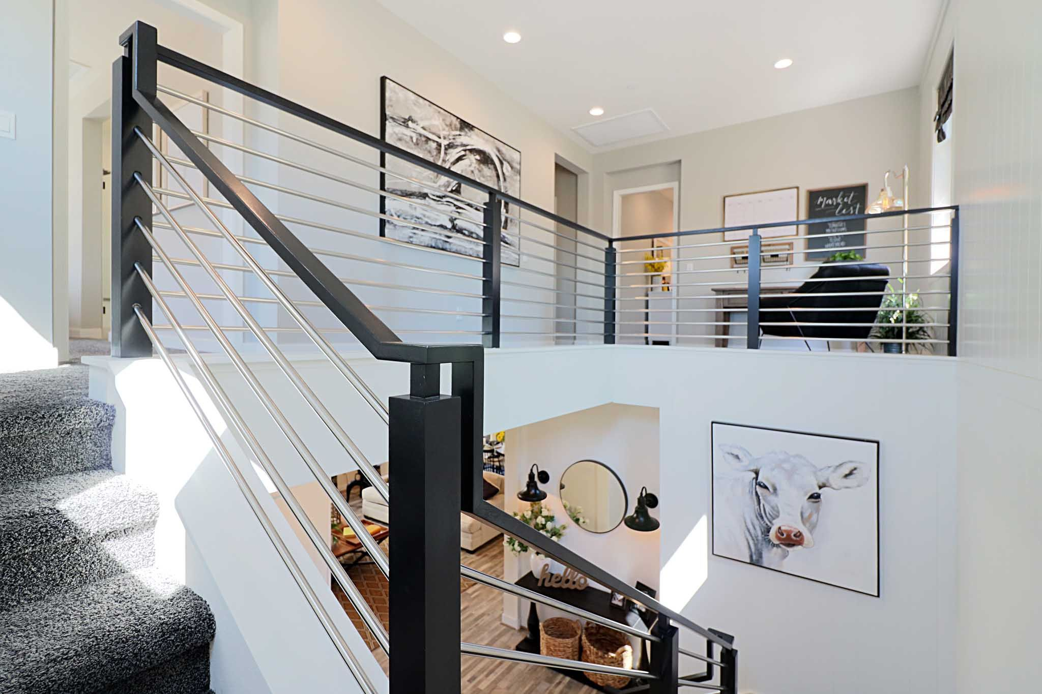 Stairway-in-Plan 1-at-The Farm-in-Ventura