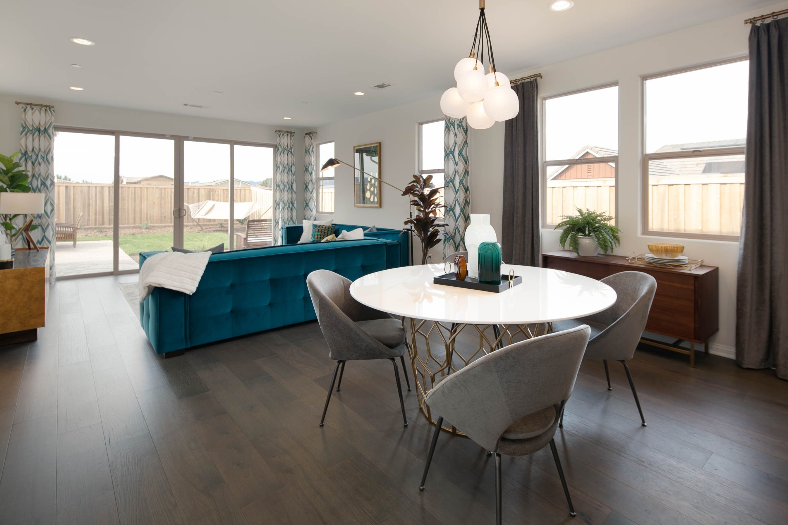 Living Area featured in the Residence One By Williams Homes in San Luis Obispo, CA
