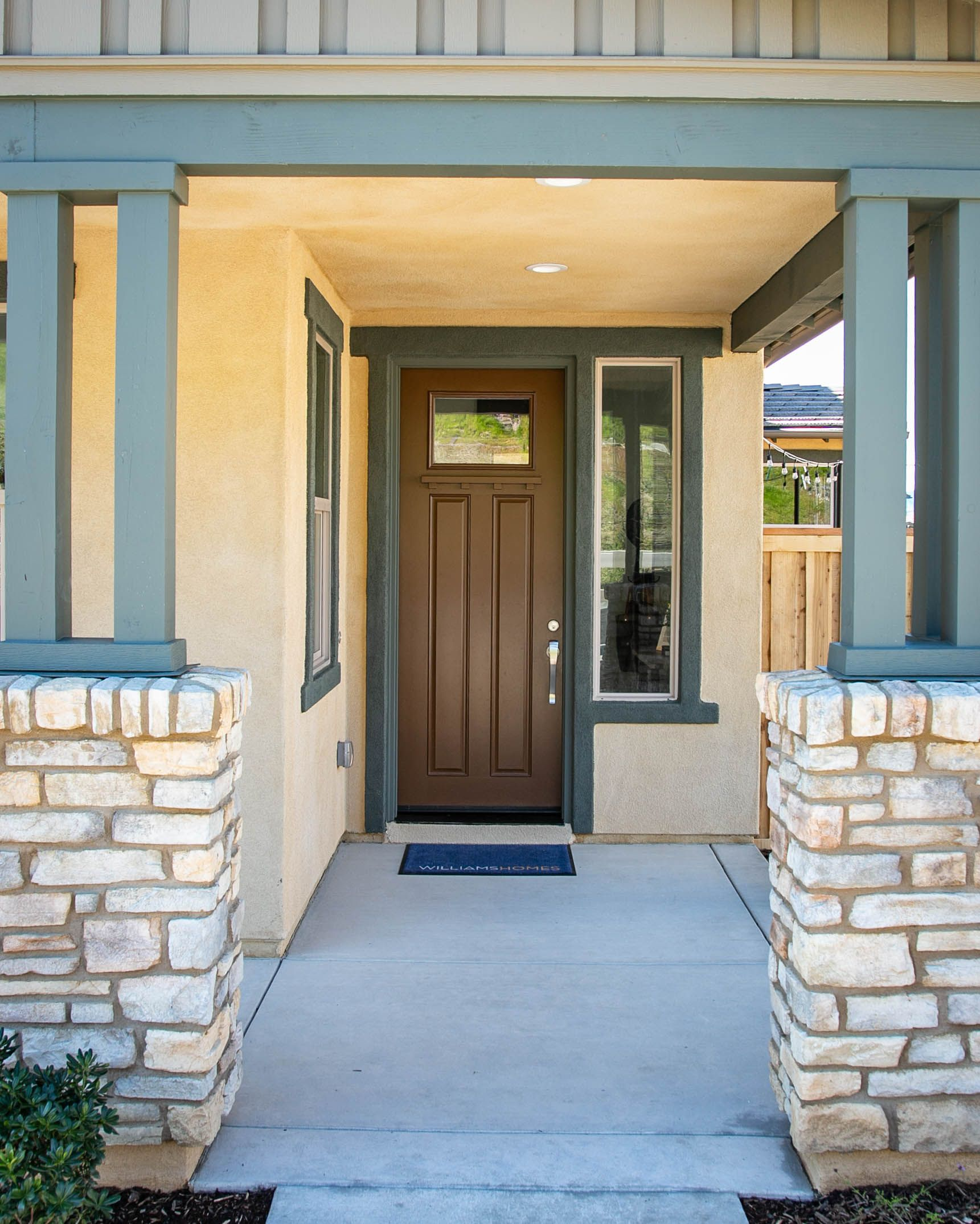 Exterior featured in the Residence Two By Williams Homes in San Luis Obispo, CA