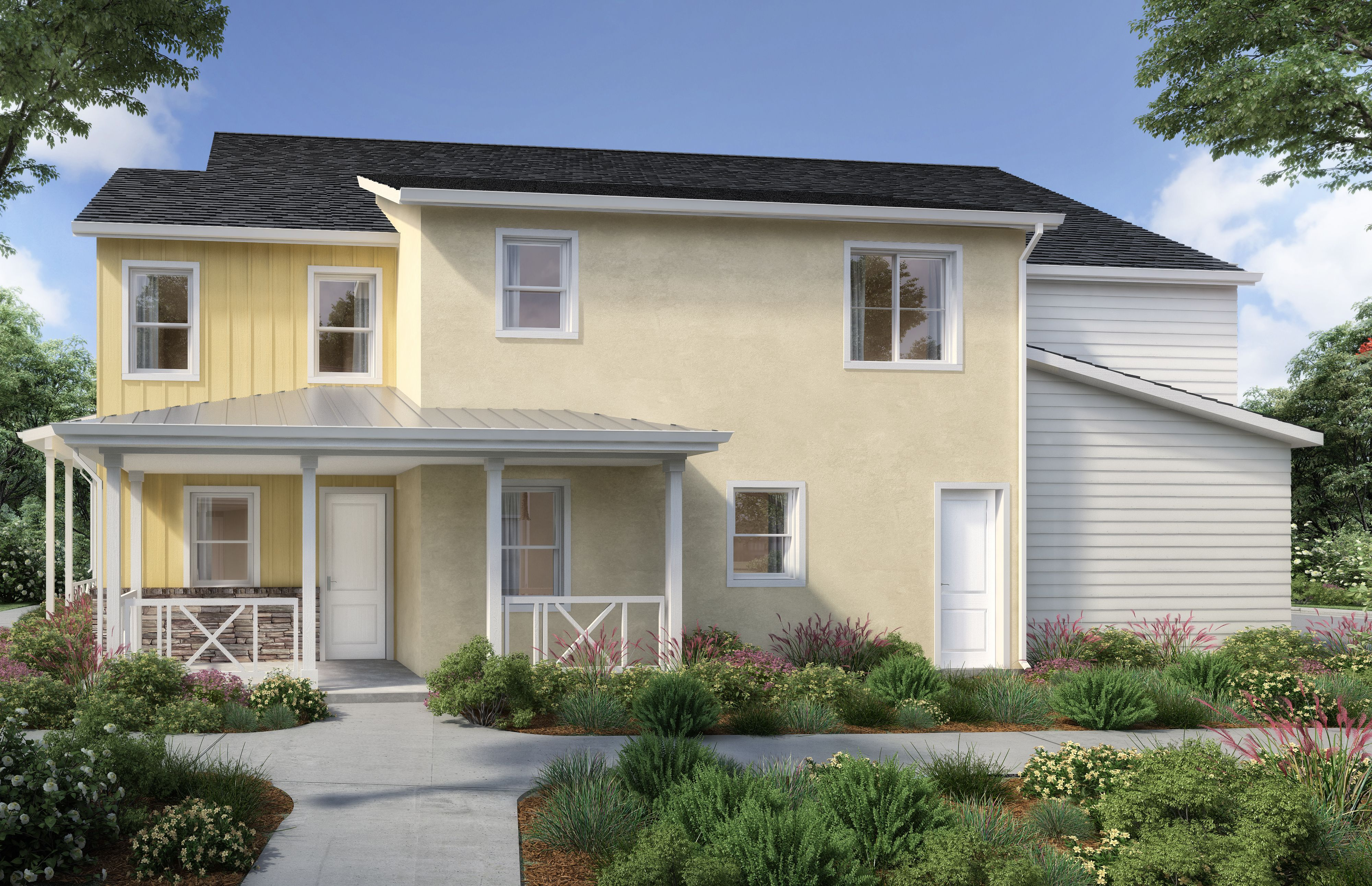 Exterior featured in the Iron Plan Two By Williams Homes in San Luis Obispo, CA
